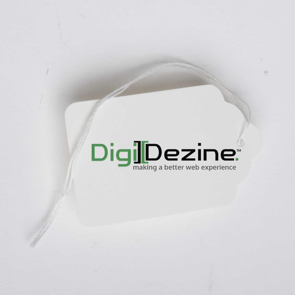 price tag image with logo of Digi Dezine web design agency in Las Vegas