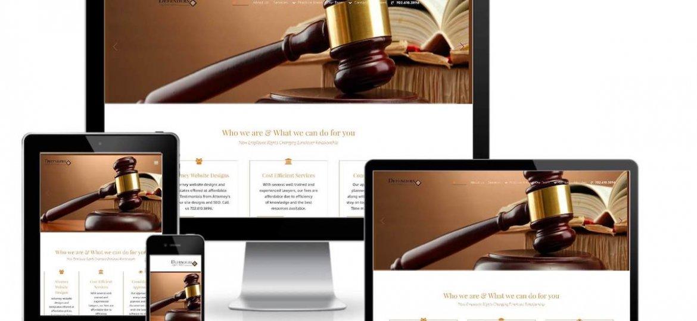 attorney website screenshot