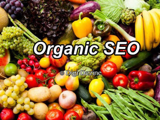 Fruit and Vegetables Representing Organic SEO