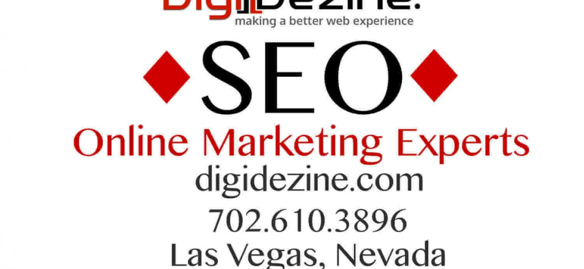 Image showing letters seo location and phone number with web address