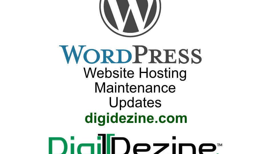 Wordpress Maintenance Website Hosting text image
