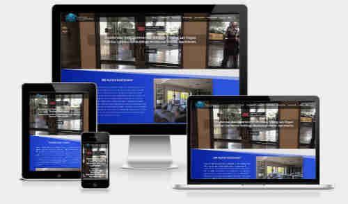 responsive image of different platforms such as desktop and mobile