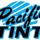 Pacific Tint letters for icon