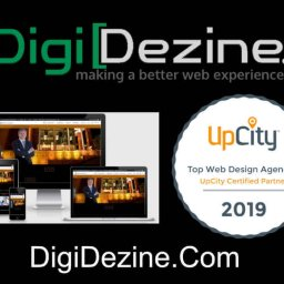 image of a law firm screenshot a upcity top web design partner in 2019 and web address for digideine.com