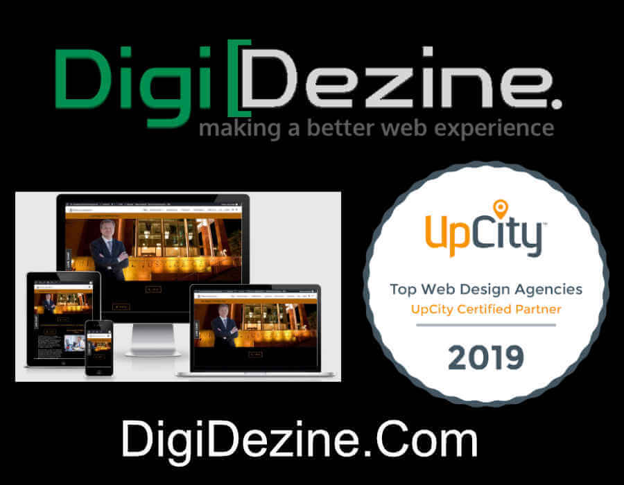 Web Design Law Firm Promo Image | Digi Dezine Web Design