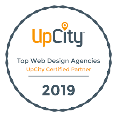 upcity certified web design partner 2019