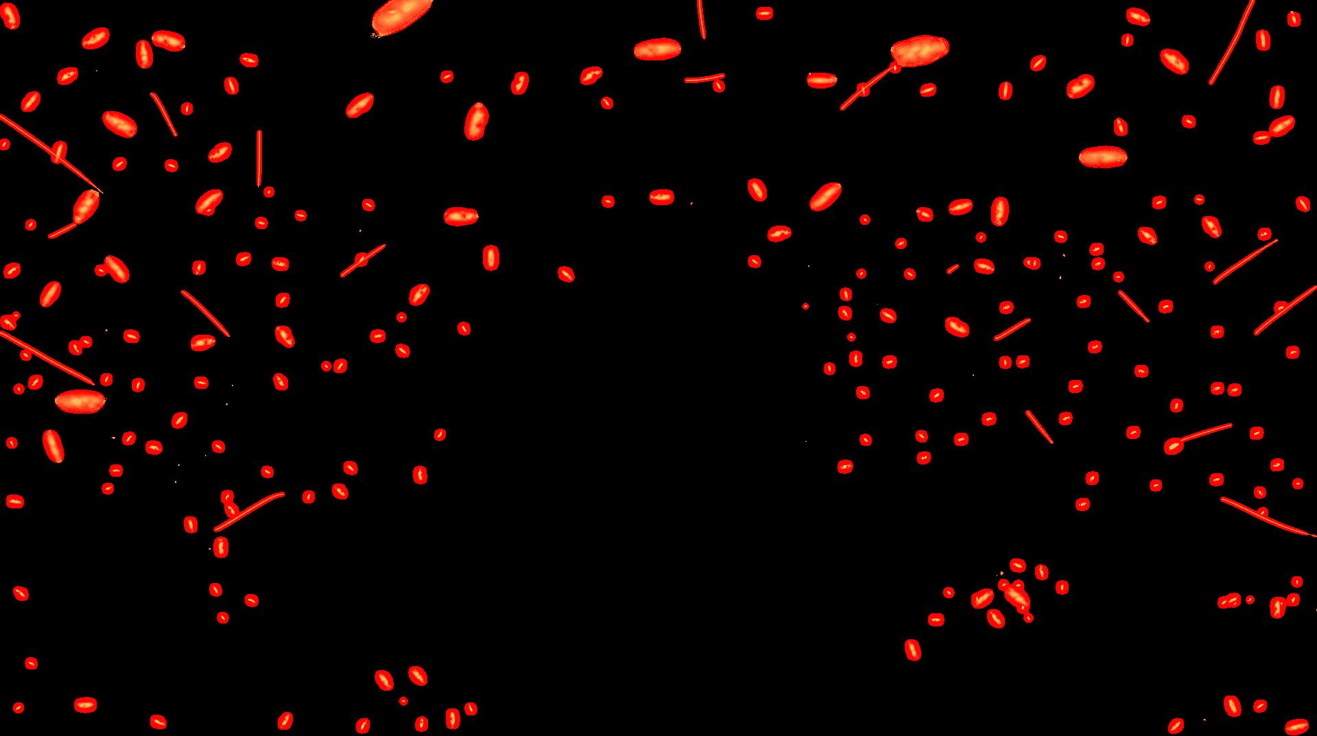 light sparks image orange in color
